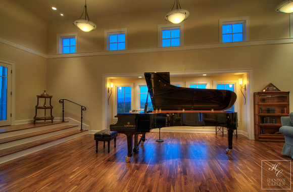 MUSIC ROOM- A HOME FOR A PIANO